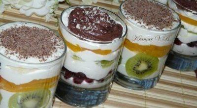 Десерт творожный — просто пальчики оближешь!