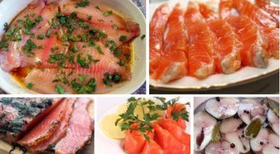 Подборка лучших 9 маринадов для рыбы