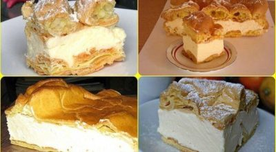 Заварной пирог «Карпатка»