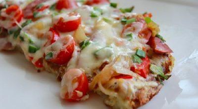 Необычная картофельная пицца на ужин. Узнав рецепт, готовлю ее постоянно!