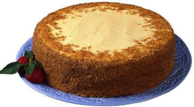 Шоколадный торт на кефире «Ням-ням»