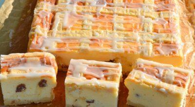 Нежный краковский сырник. Любители творожной выпечки оценят!