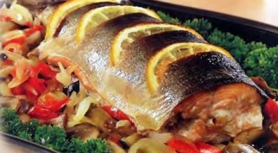 Рыба в духовке — 3 лучших рецепта и пару полезных советов