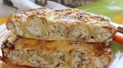 Пирог из капусты, настоящее украшение праздничного стола