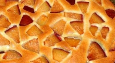 Очень простой фруктовый пирог