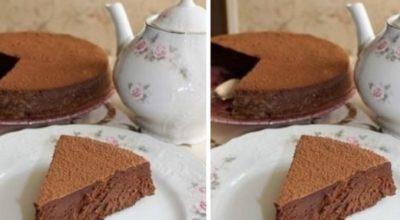 Очень шоколадный и очень нежный торт — Трюфель Евы