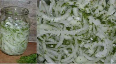Маринованный лук к шашлыку или вместо салата!