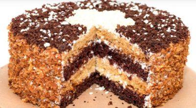 Вкусный домашний торт «Сметанник»