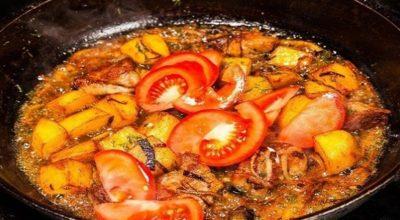 Оджахури — грузинское блюдо