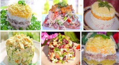 Пятнадцать невероятно вкусных салатиков для праздничного стола