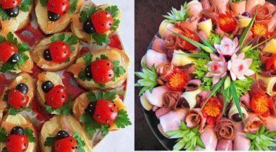 23 идеи для оригинального украшения блюд