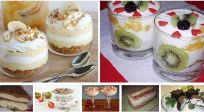 Коллекция вкуснейших десертов! Вкуснотища!