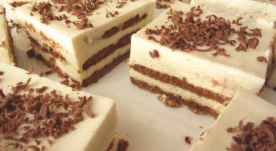 Обалденный торт за 20 минут без выпечки! Я делаю его каждую неделю!