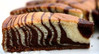 Знаменитый пирог «Зебра» — так как готовила мама!