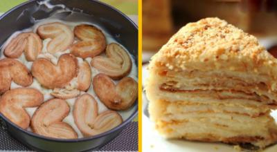 Долго стоять у плиты некогда, поэтому готовлю «Ленивый Наполеон» всего за 20 минут