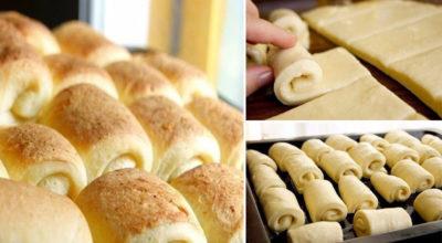 Домашние булочки «Нежные». Очень часто пеку их
