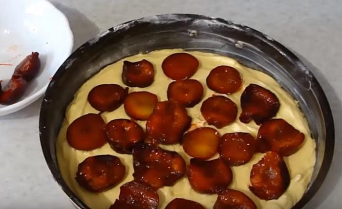 сливовый пирог простой рецепт
