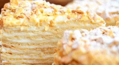 Торт Степка- растрепка