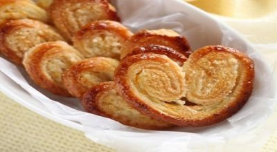 Печенье «Слоеные ушки»