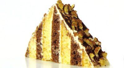 Торт «Треугольный сметанник»