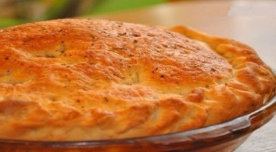Пирог с мясом «Быстрее и легче не бывает»