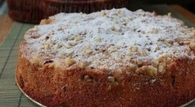 Обалденный яблочный пирог «Домашний» — пирог получается очень вкусный!