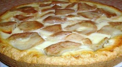 Пирог «Яблоки на снегу»
