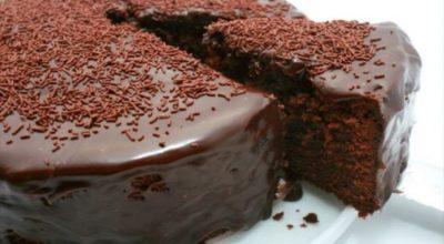 Шоколадный торт на раз, два, три… Рецепт — сказка!