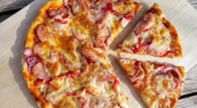 Молниеносная пицца-фантастический рецепт