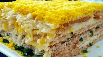 ТОП — 6 рецептов вкусных мужских салатов