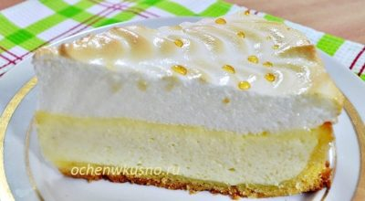 Творожный пирог «СЛЕЗЫ АНГЕЛА» — шедевр кулинарии!