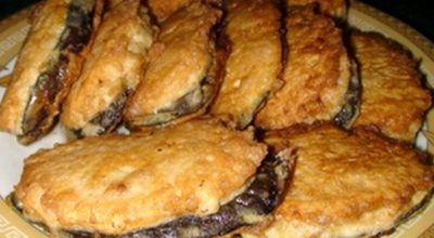 Жареные баклажаны «под мясом»