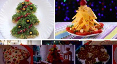 Необычные ёлочки на новогоднем столе
