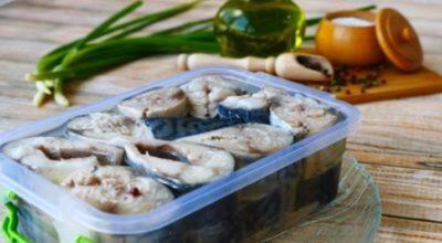 Малосольная скумбрия в масле: уникальный рецепт для любителей рыбы