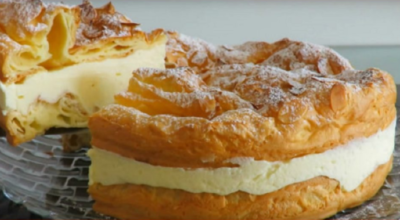 Польский торт «Карпатка». Оригинально и безумно вкусно!