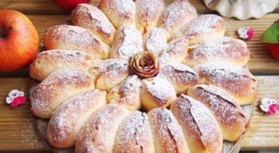 Самый изысканный пирог в мире! Реально отрывной яблочный пирог «Королева Десертов»