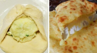 Главное — тонко их раскатать: ароматные грузинские лепешки с картофелем и сыром