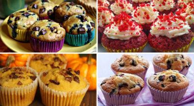 5 лучших рецептов домашних кексов