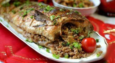 Фаршированная рыба по новому рецепту