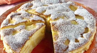 Итальянский пирог с яблоками. Очень просто и вкусный