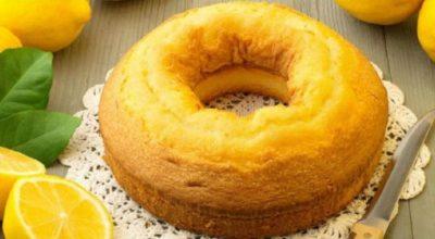 Ароматный лимонный пирог. Очень вкусный и легкий в приготовлении