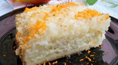 Необыкновенно вкусный и ароматный кокосовый пирог