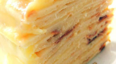Нежнейший торт с творожным заварным кремом