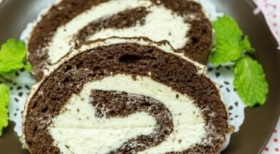 Обалденный шоколадный бисквит со сливочным кремом