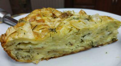 Пирог из лаваша с сыром, просто объедение!