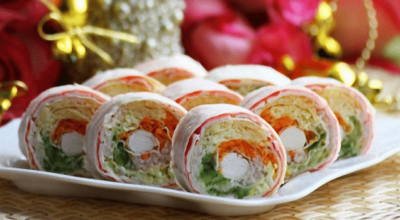 Рулеты из лаваша: 20 вкуснейших видов начинки