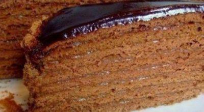 Шоколадный медовик «Дамский каприз»