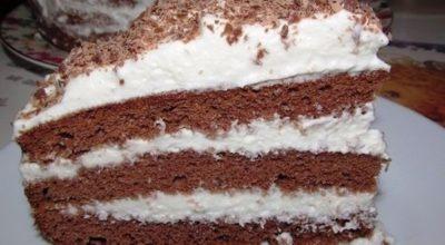 Шоколадный торт готовим за 5 минут