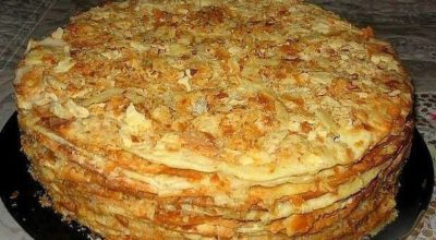 Очень удачный старинный рецепт торта «Наполеон»