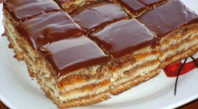 """Удивительно нежное праздничное пирожное """"Грета Гарбо"""""""